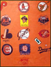 orange baseball logo / sports logo folder
