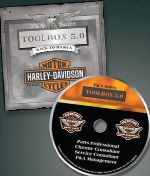 Package Designer - Harley-Davidson, Inc. Parts and Accessories Dealer Sales Tool CD - Toolbox