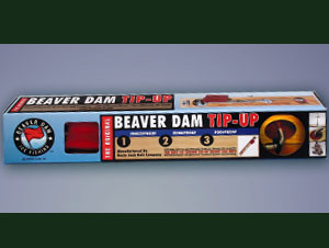 Packaging Designer - Uncle Josh Bait Company Ice Fishing Beaver Dam Tip-Up Product Packaging Box Design