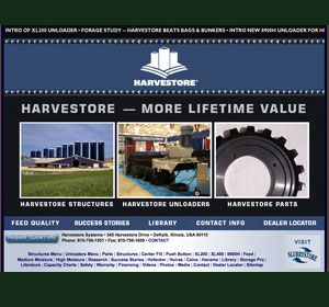 CST Industries, Inc. - Engineered Storage Products Company - Harvestore Systems and Slurrystore Systems - Harvestore.com and Slurrystore.com website design and programming